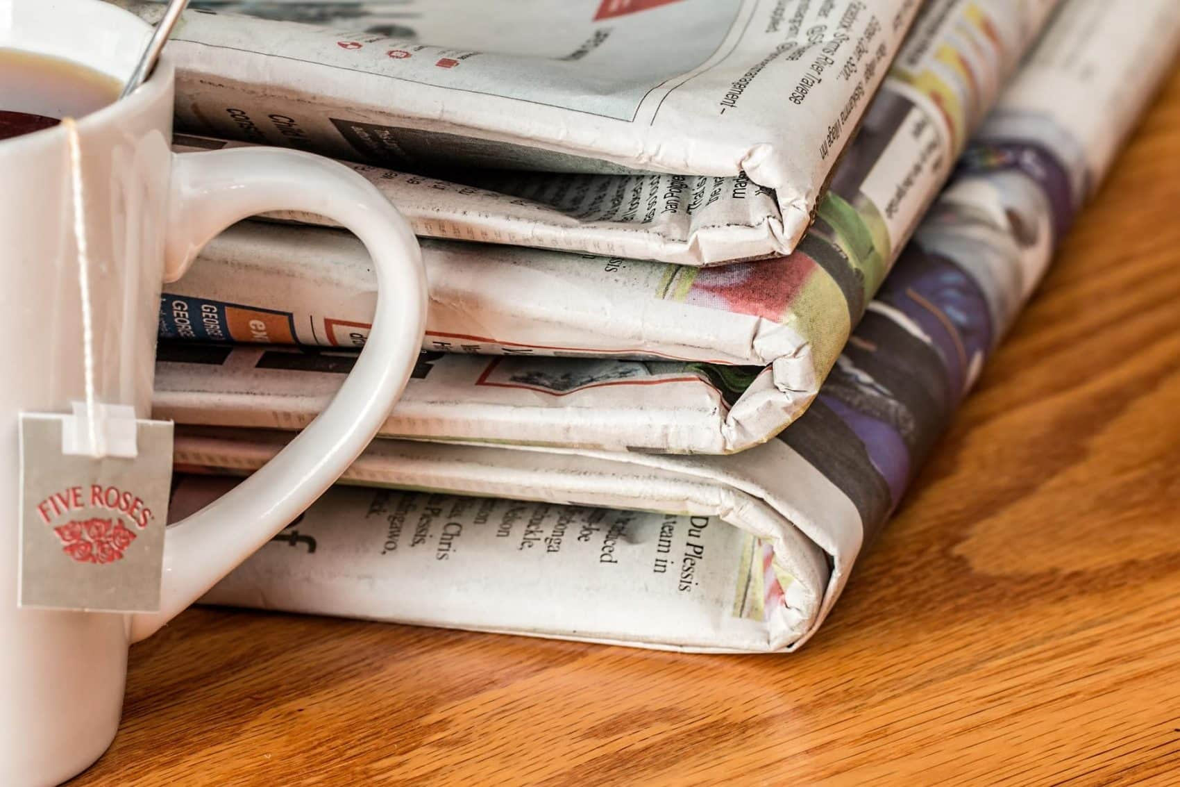 Internet's a no brainer… but what about the papers?